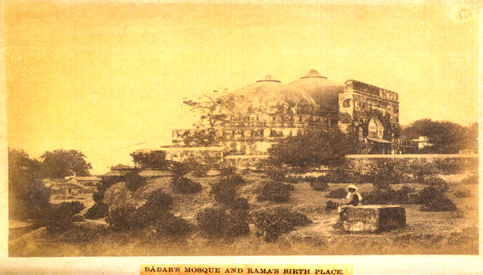 Rama janma bhumi at Ayodhya